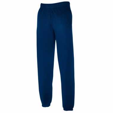 Fruit of the loom broek navy blauw