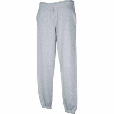 Fruit of the loom joggingbroek grijs voor volwassenen