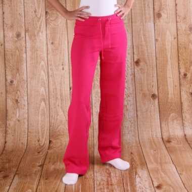 Roze joggingbroeken