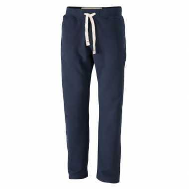 Vintage joggingbroek voor heren navye