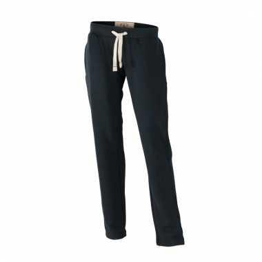 Vintage joggingbroek zwart voor heren