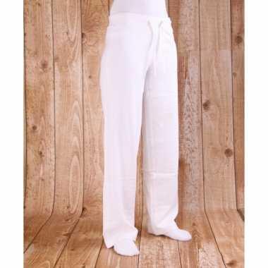 Witte joggingbroeken